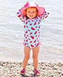 RuffleButts Baby/Toddler Girls Whimsy Watermelons