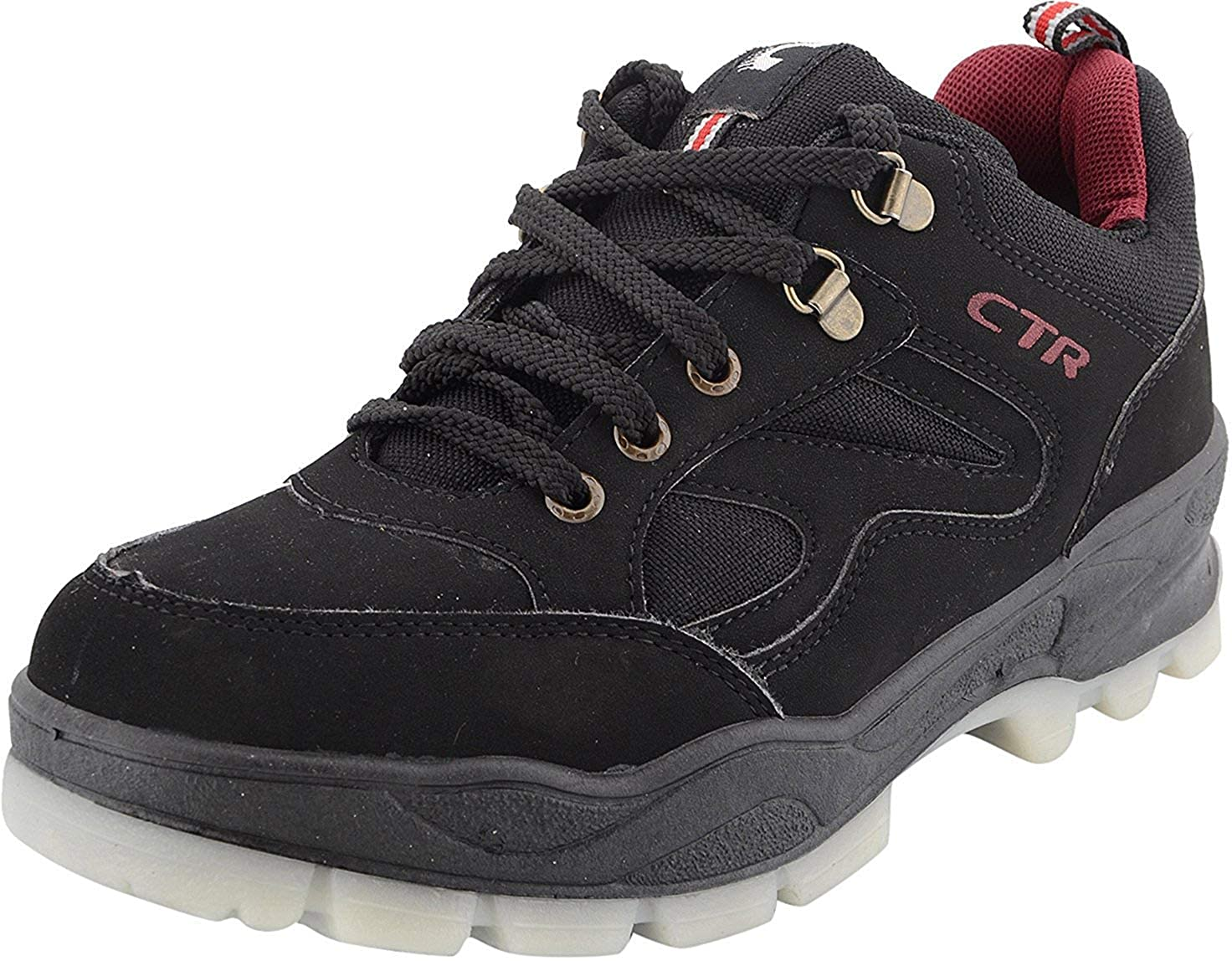 794fb6ec78ac Add-Gear CTR Trekking Shoes Anti-Skid Hiking Shoes Slip Resistant Mountain  Boots in Action Trekking Black  Buy Online at Low Prices in India -  Amazon.in