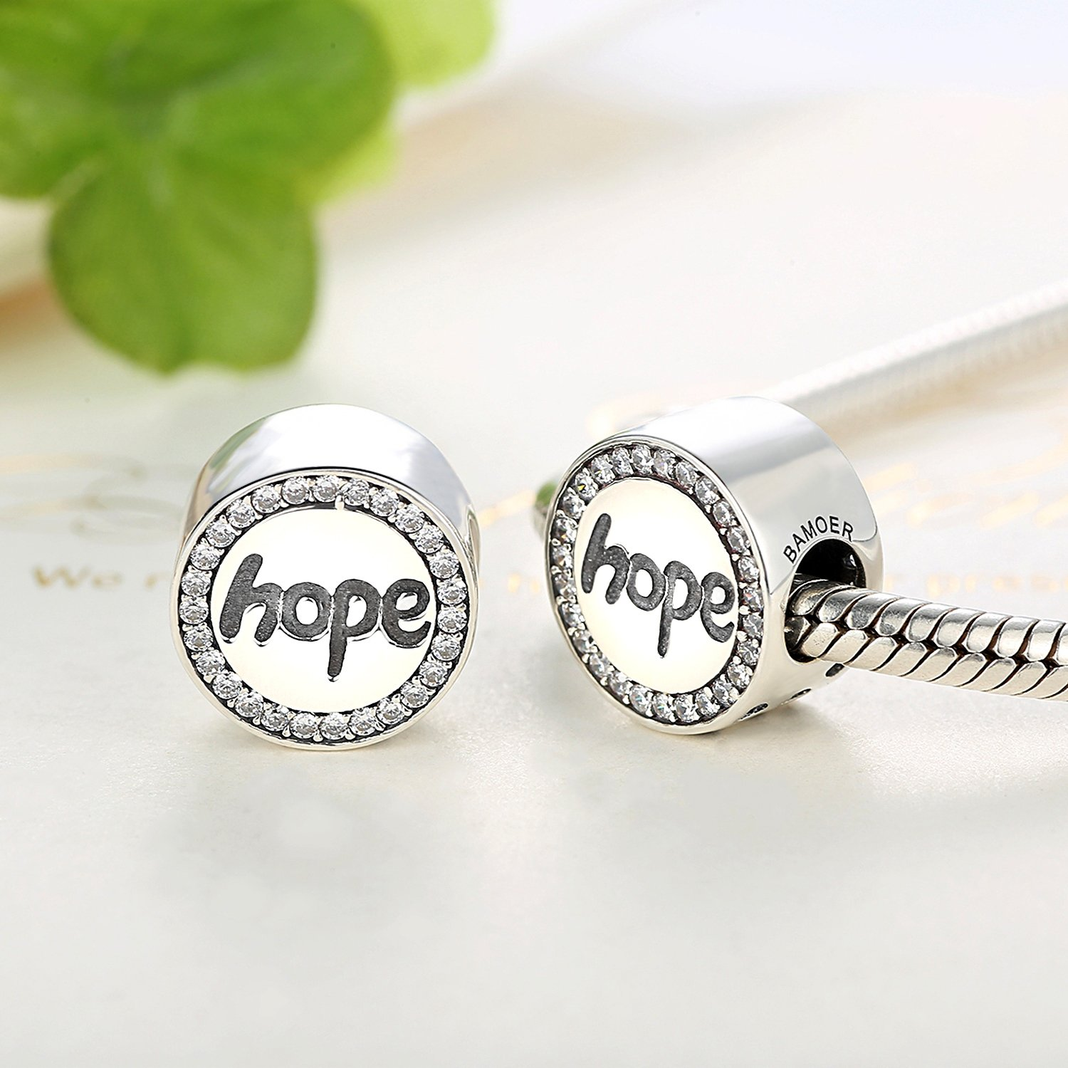 Faith-Hope-Charm-Best-Wish-Clear-CZ-Bead-Charms-fit-Pandora-Bracelet-Necklaces-Jewelry-Birthday-Gifts