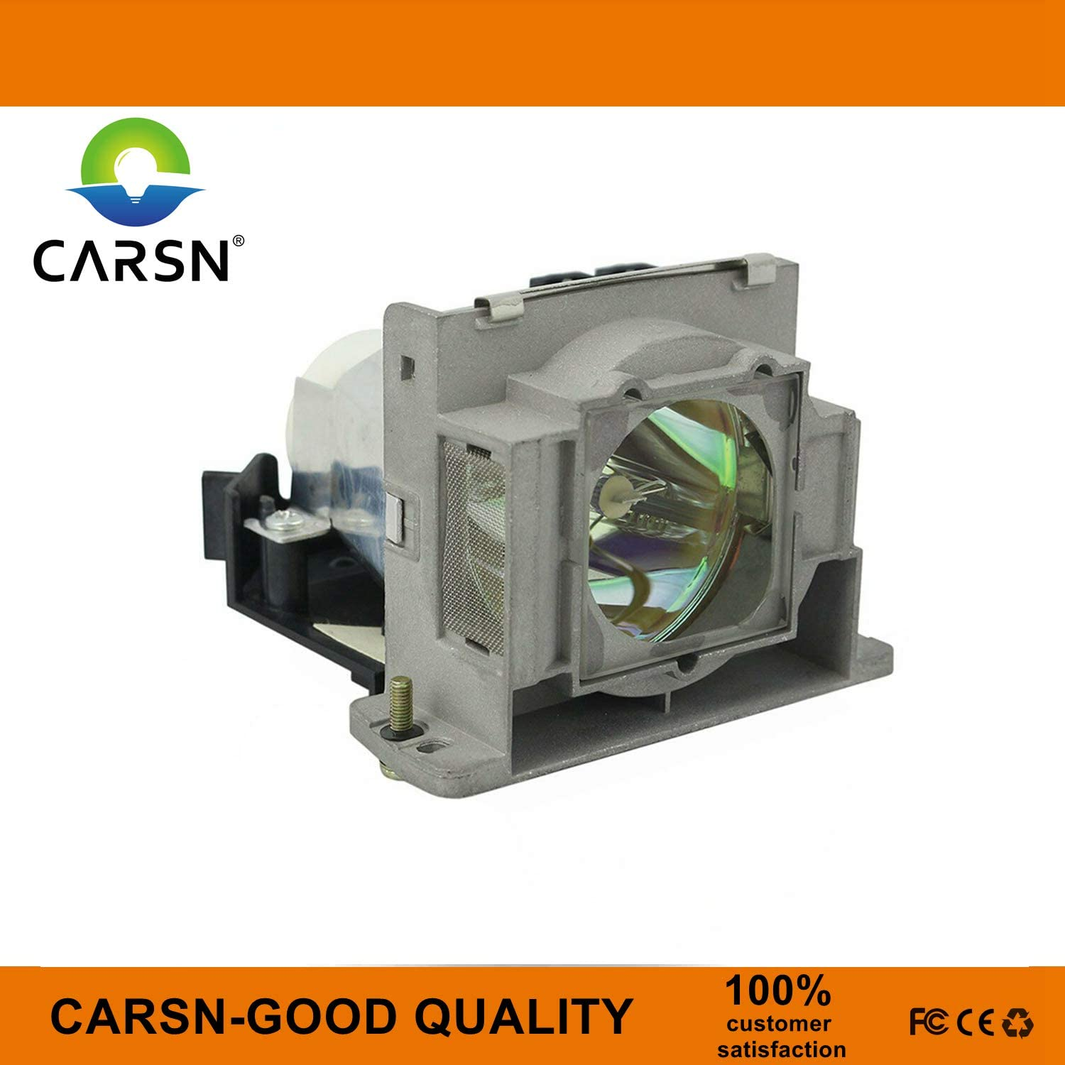 Lamp with Housing by CARSN VLT-XD400LP Replacement Projector Lamp for Mitsubishi XD400 XD460 XD480 XD490 XD450 ES100 XD460U ES100U