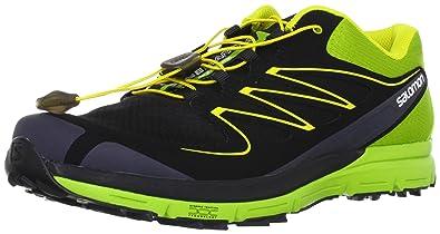 Salomon Sense Mantra Black Green Yellow