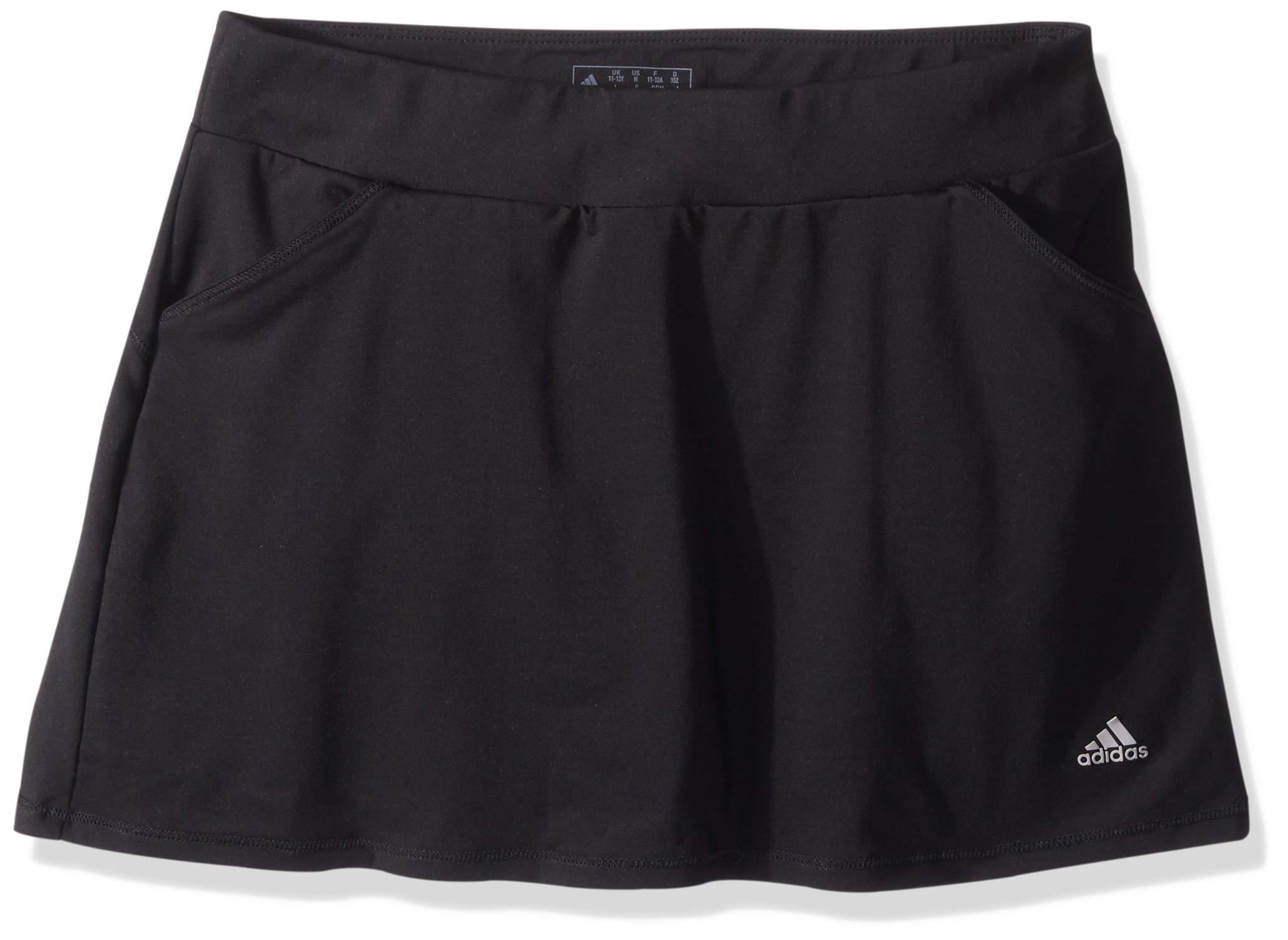 adidas Golf Printed Golf Skort, Black, Medium by adidas