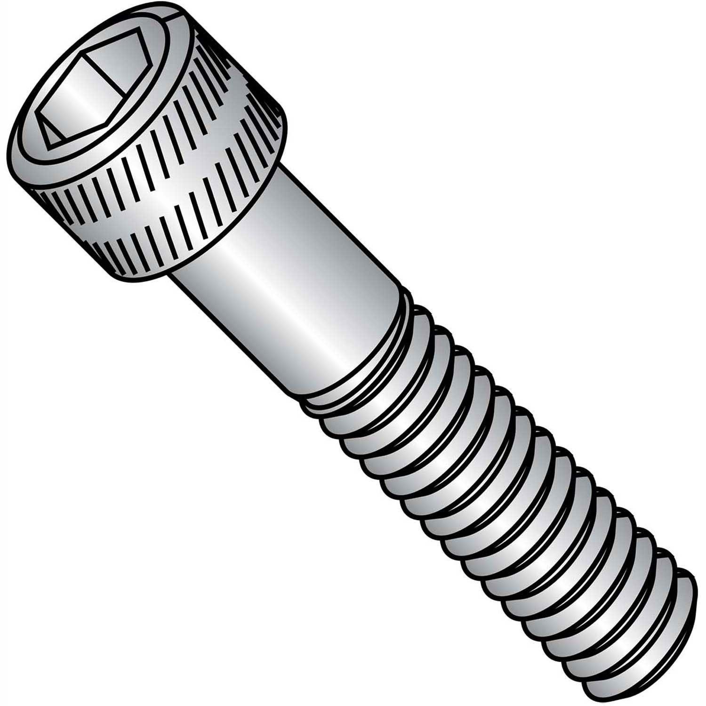 Alloy Steel Pack of 100 Brighton-Best International 011079 Socket Black-Oxide Socket Head Screw Hex 3//8 Long 8-32 Thread Size