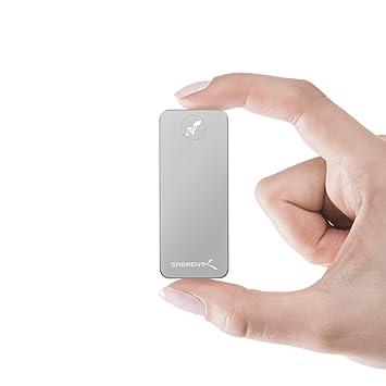 Sabrent SSD externo de aluminio de 2 TB Rocket Nano (plateado) (SB ...