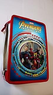 ASTUCCIO scuola MARVEL - AVENGERS Infinity War - 3 scomparti - pennarelli matite gomma ecc. 3 zip - novità Seven Seven s.p.a.