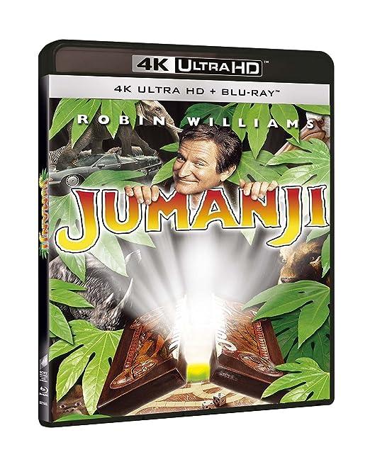 Jumanji Blu-Ray 4K Ultra Hd+Blu-Ray Italia Blu-ray: Amazon.es: Kirsten Dunst, James Horner, Bonnie Hunt, Robin Williams, Joe Johnston, Kirsten Dunst, James Horner: Cine y Series TV