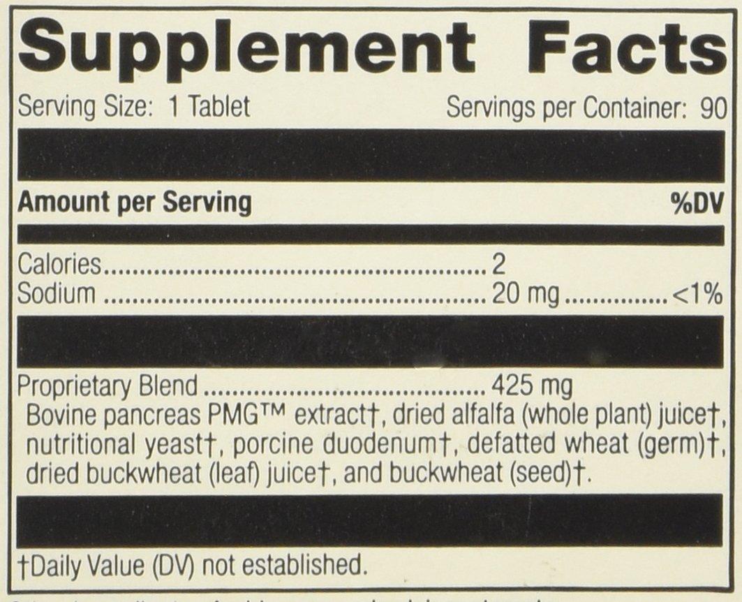 Standard Process - Pancreatrophin PMG® 90 tabs