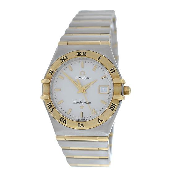 Omega constelación cuarzo mujer reloj 1112.1221 (Certificado) de segunda mano