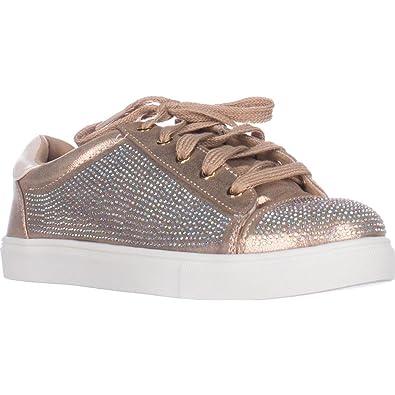 Frauen Melanie Fashion Sneaker Gold Groesse 7.5 US/38.5 EU Material Girl PYr0TLi7Vc