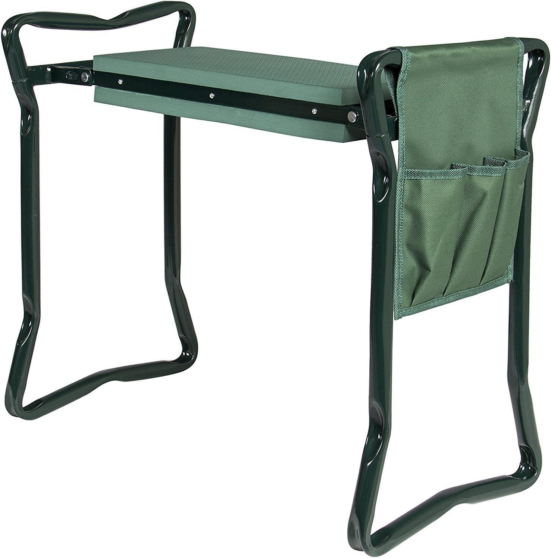 Choix des Produits Pliable Garden Repose-Genoux et Assise Détachant Bonus Outil Pouch Portable Tabouret EVA Pad