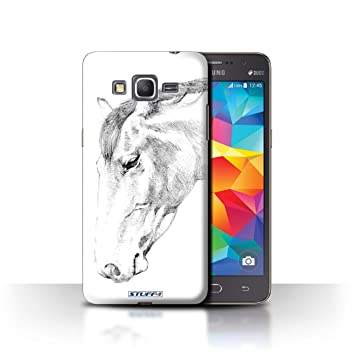 Stuff4® Carcasa/Funda Dura para el Samsung Galaxy Grand ...
