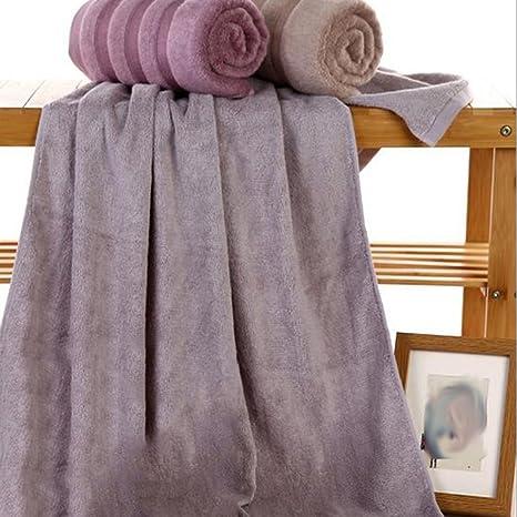 Toallas de baño de bambú de fibra toalla Super absorbente toalla de Universal (3 piezas