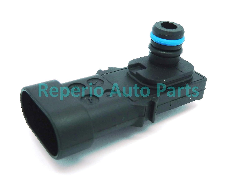 Carte Capteur de pression du Collecteur Turbo d'admission Boost Sensor 7700101762, 82001051565, 8200121800, 8200719629 Reperio Auto Parts