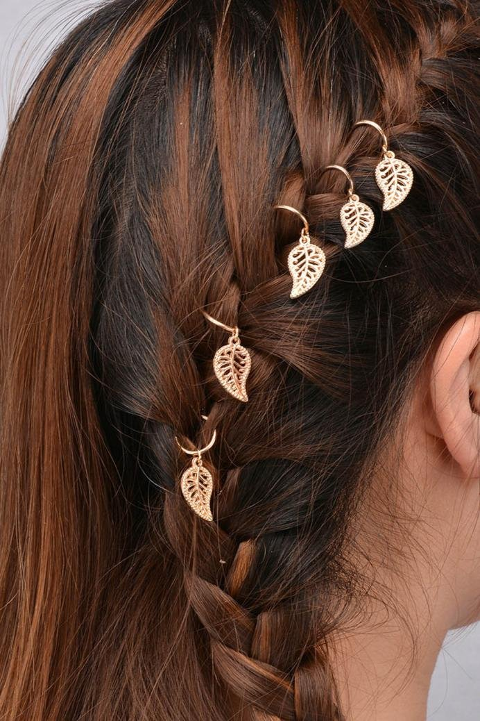DIY 20Pcs Hair Ring Clip Pin Accessory Women Personality Braid (DGD)