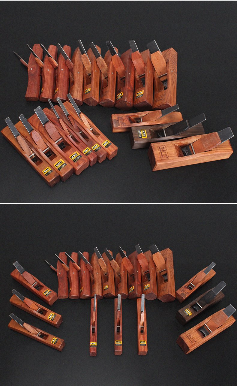 9PCS/set Bull-nose Radius Plane woodwork Carpenter wood tool convex planes W186