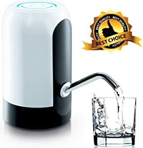 Water Dispenser, Automatic Electric Drinking Water Pump for 5 Gallon Water Bottle