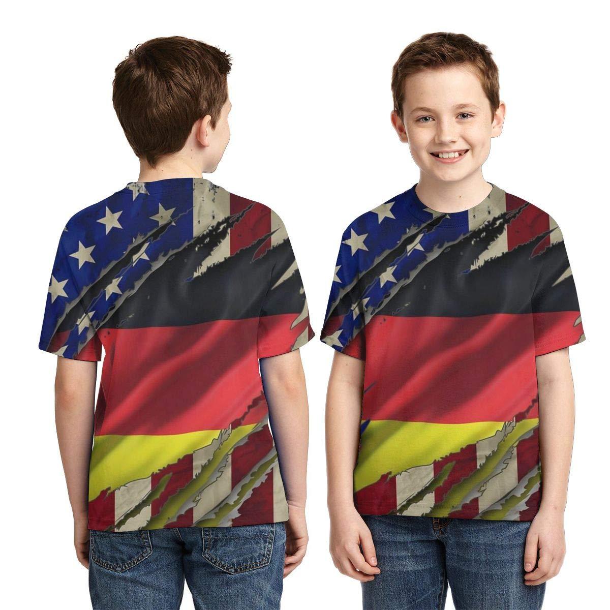 CERTONGCXTS Little Boys American Grown Uganda Root ComfortSoft Long Sleeve Tee
