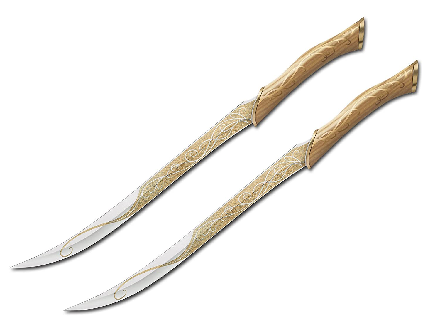 Böker Tasche und Küchenmesser Klinge United Cutlery The Hobbit-Legolas Dagger With Display Plaque, 05UC3001