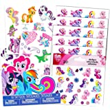 My Little Pony Stickers & Tattoos Party Favor Pack (216 Stickers & 75 Temporary Tattoos)