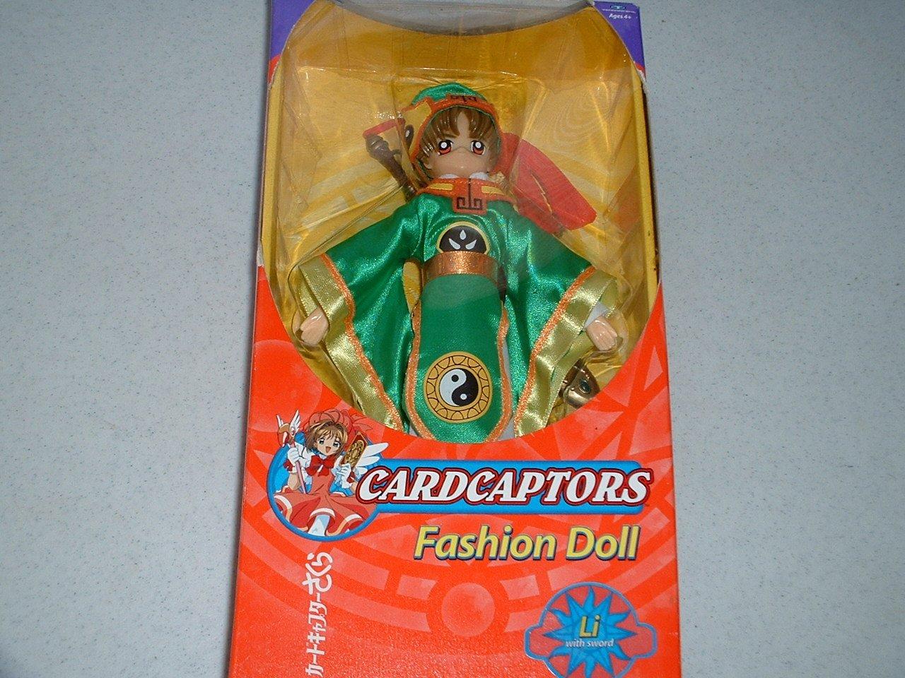 amazon com cardcaptors fashion doll li with sword toys u0026 games