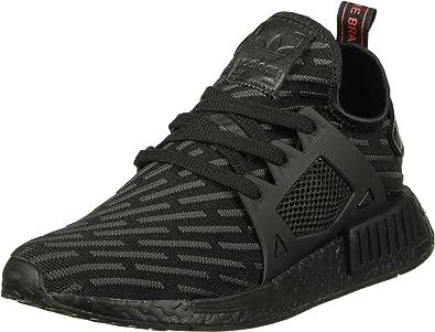 adidas nmd herren black black red