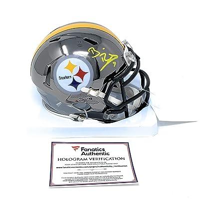 designer fashion 91169 a61c4 Amazon.com: Ben Roethlisberger Pittsburgh Steelers Signed ...