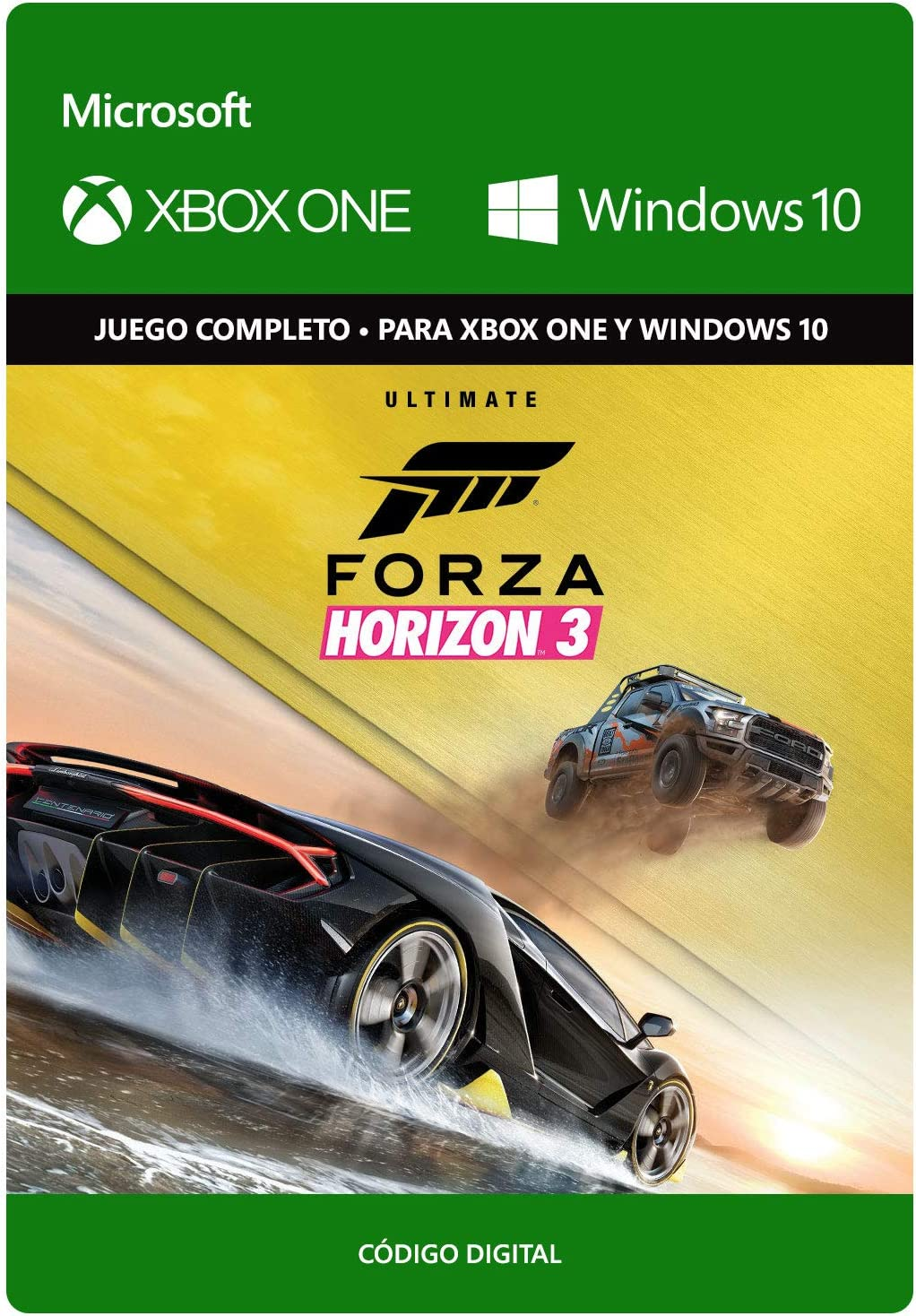Forza Horizon 3: Ultimate | Xbox One/Windows 10 PC - Código de ...