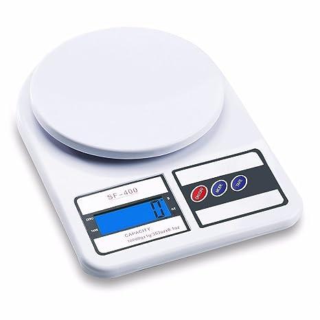 Sichun 10 kg/1g Digital electrónica de cocina Postal Báscula de pesaje de envío paquete