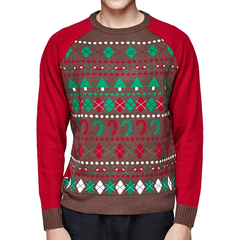 Blueberry Pet Ugly Christmas Men's Women's Holiday Festive Pullover Crewneck Sweater, Sweaters for Men or Women, Medium by Blueberry Pet (Image #1)
