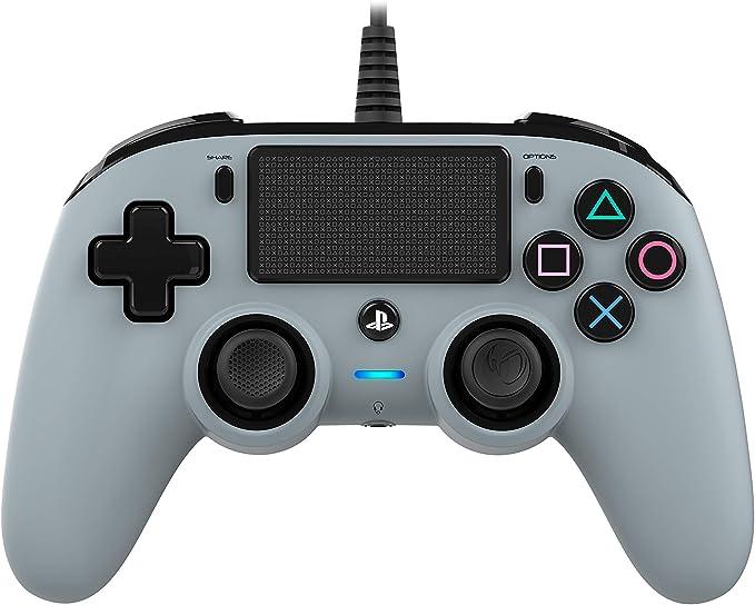 Oferta amazon: Nacon - Mando compacto PS4, color gris