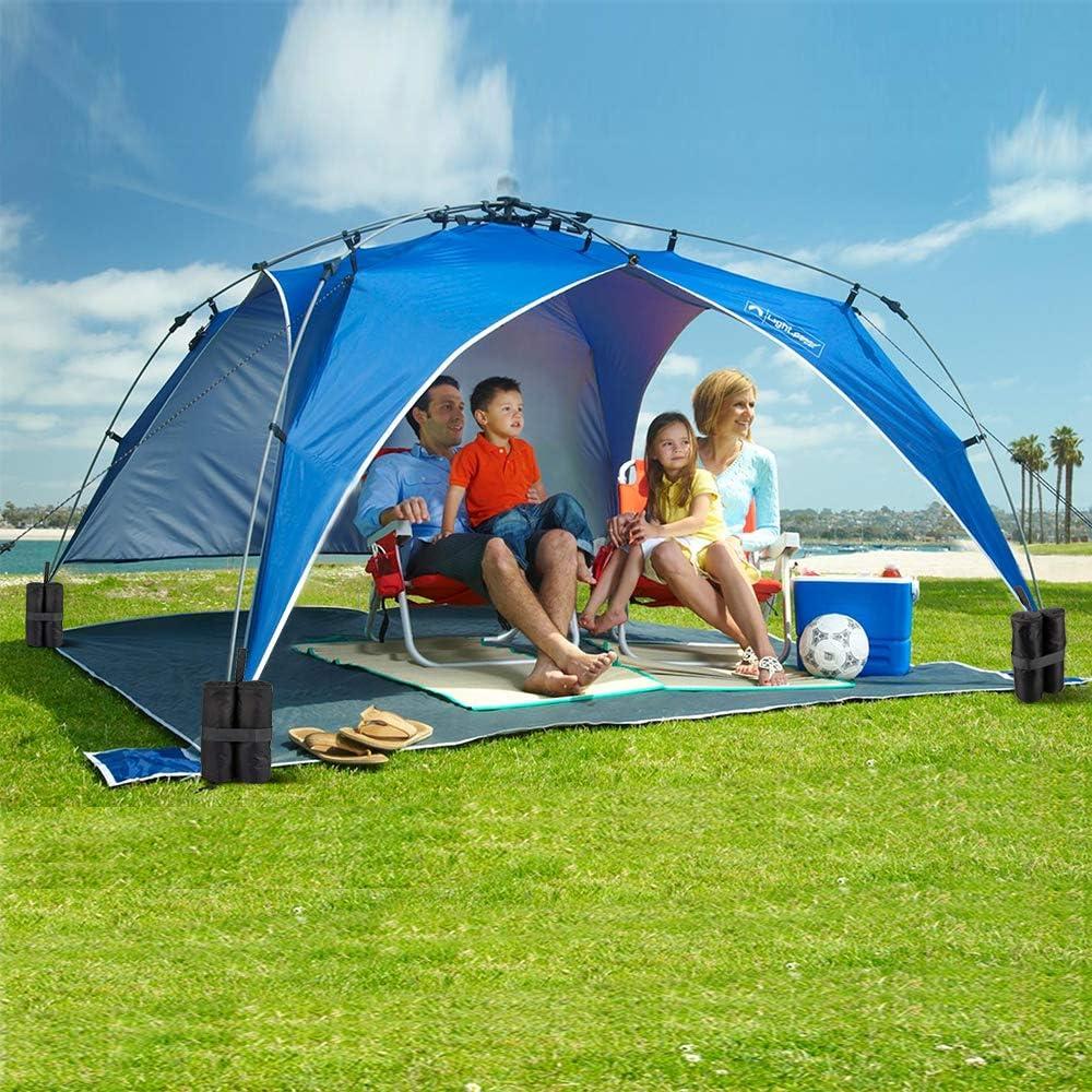 per Tenda trampolini Sabbia Non Inclusa Ombrello Ancoraggio Gazebo dibikou Gambe Gazebo Confezione da 4 Pesi per Gazebo