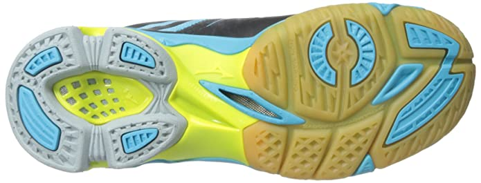 Amazon.com: Mizuno Mujer Wave Lightning Z Woms bk-ab ...