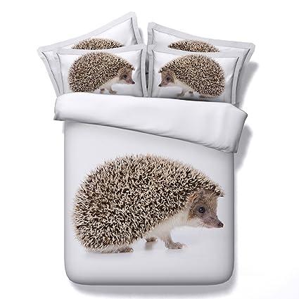 Amazon.com: EsyDream Cute Hedgehog Design Boys Bedroom ...
