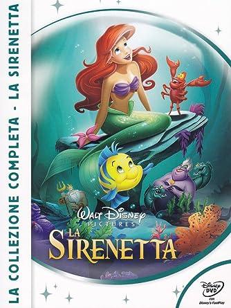 La Sirenetta - La Collezione Completa 3 Dvd Italia: Amazon.es ...