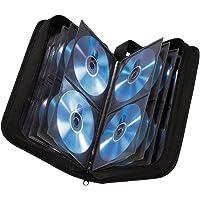 Hama CD Wallet Nylon Black Holds 120