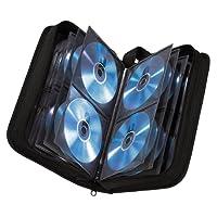 Hama CD wallet for storing 120 CDs/DVDs/Blu-rays, black,00033833