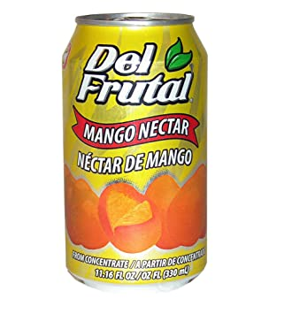 Del Frutal Mango Nectar 11.16 oz - Sabor Mango