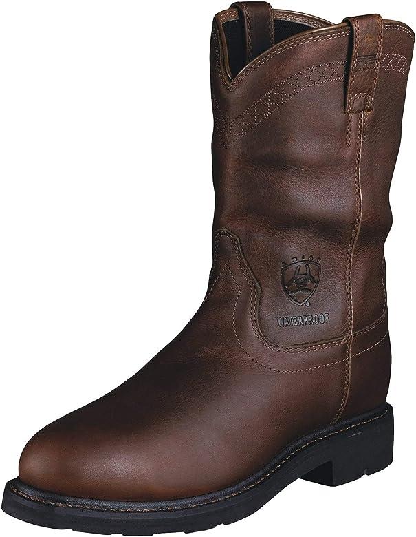 Sierra Waterproof Steel Toe Work Boot