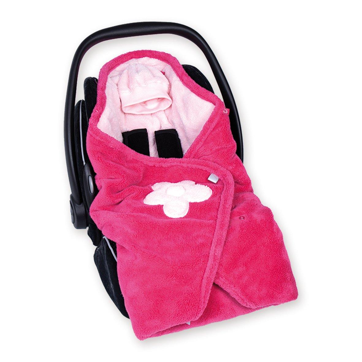 Bemini by Baby Boum Softy Blanket (Lizie 57 Pompon) 392LIZIE57SF