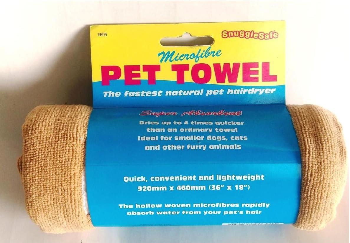 SnuggleSafe Toalla de Microfibra para Mascotas, estándar