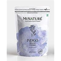 MINATURE Indigo Powder 100% Pure Natural Organically Grown Indigo Powder- For HAIR (227g / (1/2 lb) / 8 ounces)