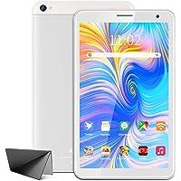 Tablet 8 Pulgadas WiFi AOYODKG,Android 10.0 Tableta,3GB RAM 32GB ROM,Quad-Core,Full HD Display,Bluetooth-Plata