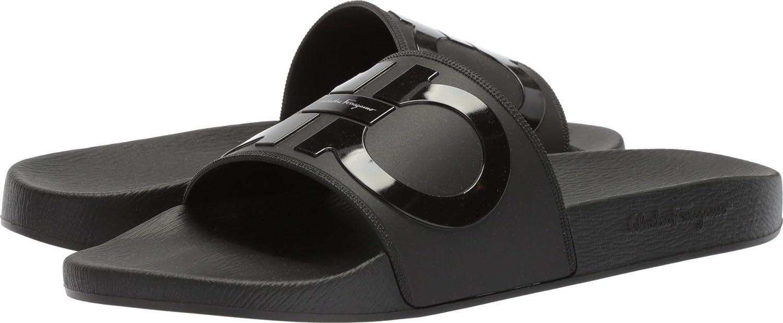 e4399584d Amazon.com: Salvatore Ferragamo Men's Groove 2 Nero 45 D EU: Shoes