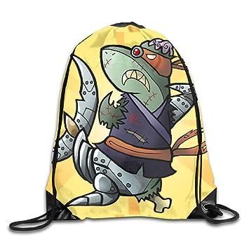 Drempad Bolsos De Gimnasio,Mochilas, Ninja Shark Bling Funny ...
