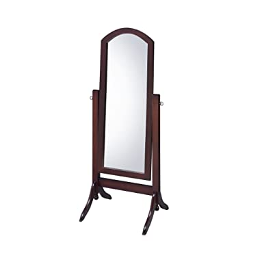Proman Products CV17001 Barrington Cheval Mirror, Walnut