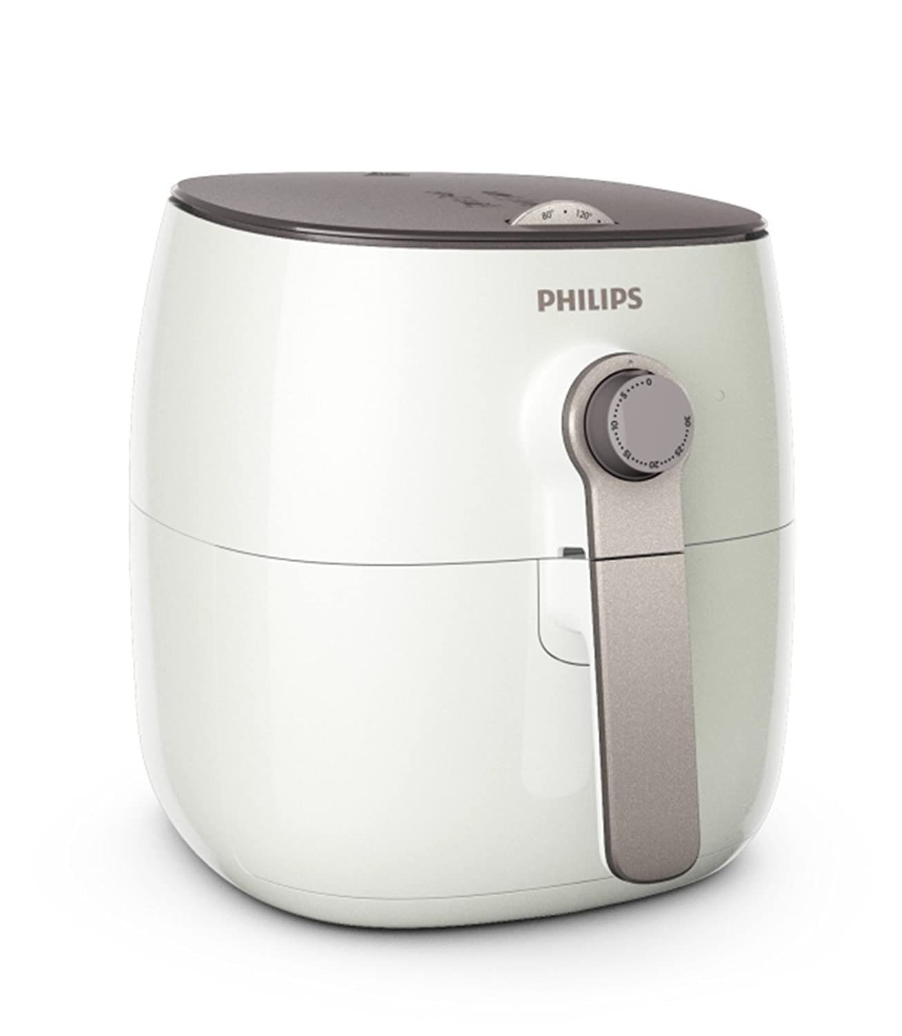 Philips Avance Collection XXL Digital Twin TurboStar Airfryer Black/Silver - HD9650/96