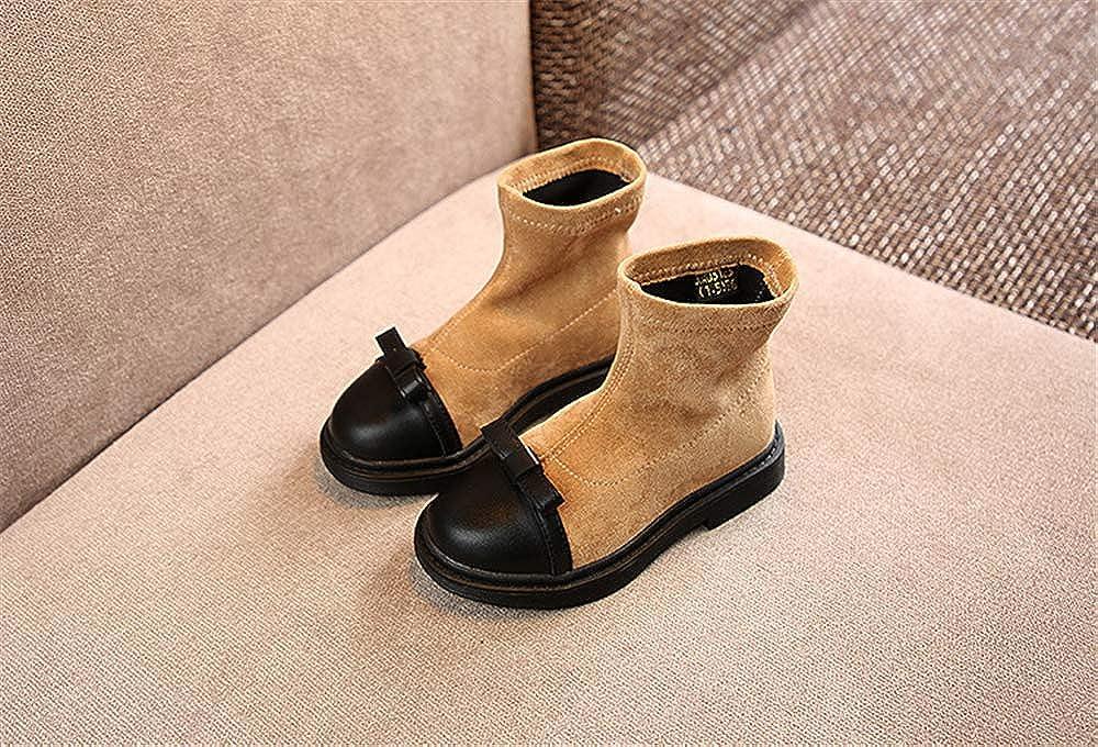 Fancyww Girls high Boots Cashmere