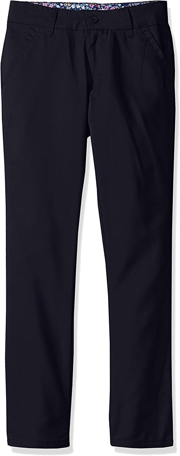 U.S More Styles Available Big Girls Twill Pant Skinny Navy-IJVCA Polo Assn 10