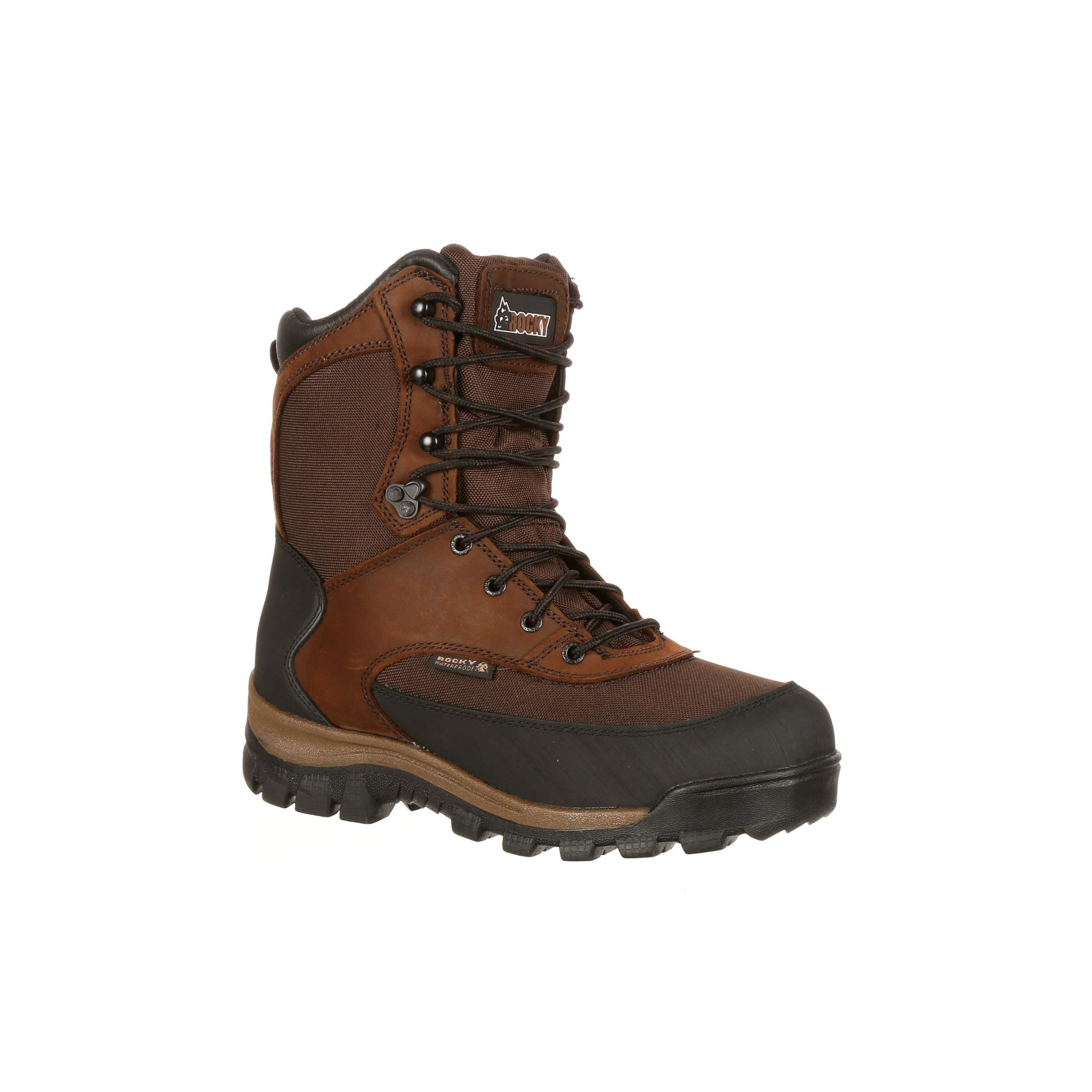 Rocky Men's 8'' Core Waterproof Insulated Outdoor Boot-FQ0004753 (M10) Brown by Rocky Boots