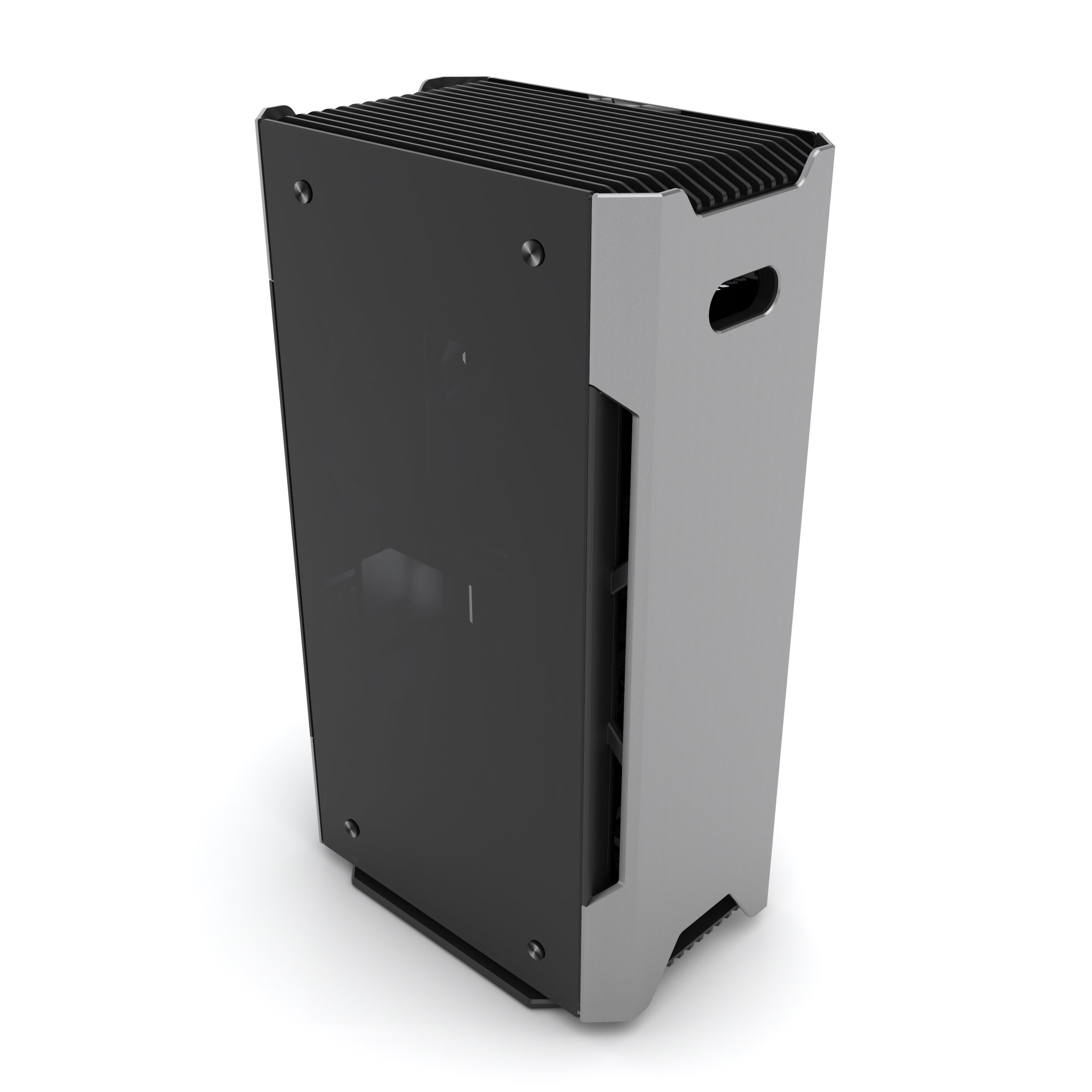 Phanteks PH-ES217E_AG EVOLV SHIFT Mini ITX Dual Tempered Glass for AIO water cooling Anthracite Gray Cases by Phanteks (Image #4)